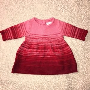 "Beautiful ""BRAND NEW"" Pink/Red Ombré Winter Dress"